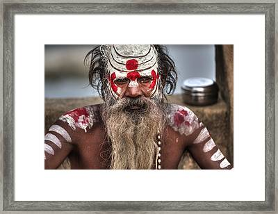 faces of India Framed Print by Joana Kruse