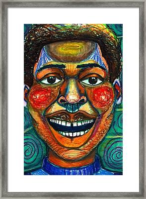 Faces Unseen Series Framed Print by Malik Seneferu