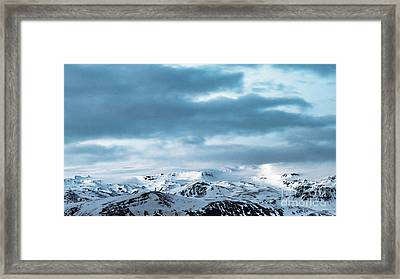 Facing Eyafjallajokull Framed Print
