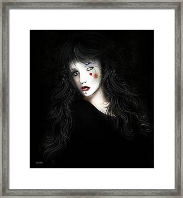 Facing Fear Framed Print by G Berry