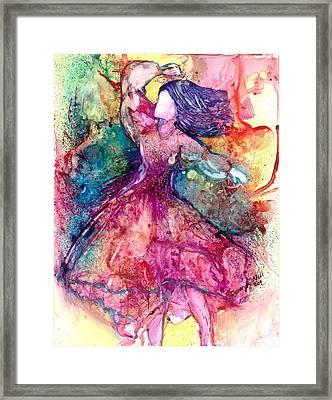 Facing One Framed Print by Deborah Nell