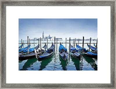 Facing San Giorgio Maggiore Framed Print