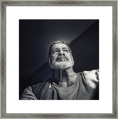 Facing The Light Framed Print by Piet Flour