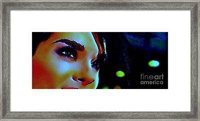 Facing The New Dawn Framed Print by Dolly Mohr