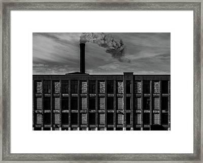 Factory Framed Print by Bob Orsillo