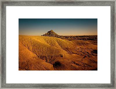 Factory Butte Framed Print