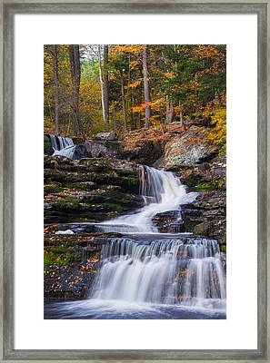 Framed Print featuring the photograph Factory Falls 2 by Mark Papke