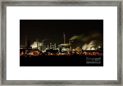Factory Framed Print by Nailia Schwarz