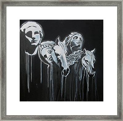 Fade To Black And Remember Back... Framed Print by Stephen  Barry