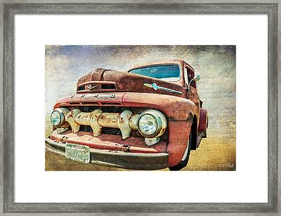 Faded Ford Framed Print by Tom Pickering of Photopicks Photography and Art