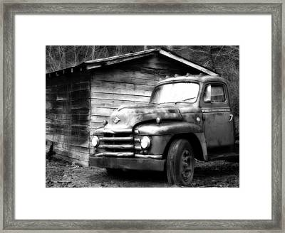 Faded Glory Framed Print by Dan Wells