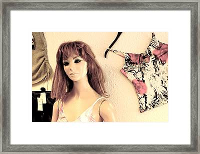 Faded Like The Area Framed Print by Jez C Self