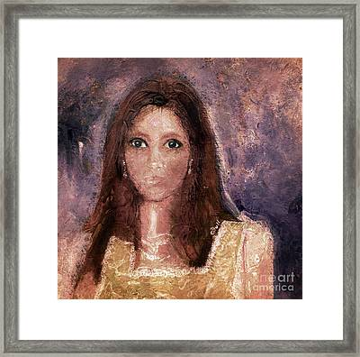 Faded Memories Framed Print by Claire Bull
