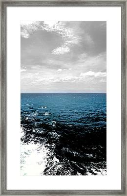 Faded Skies Framed Print by Julie Maxwell