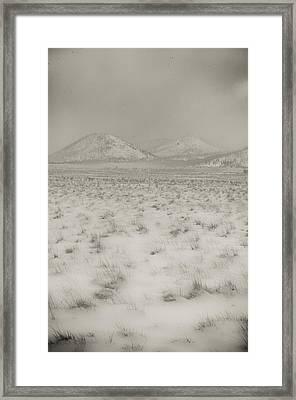 Faded Storm Framed Print by Scott Sawyer