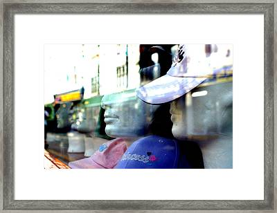 Fading Away From Any Life Framed Print by Jez C Self