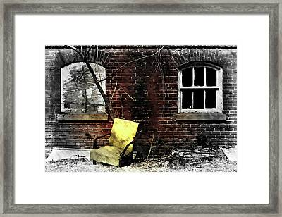 Framed Print featuring the photograph Fading Away by Jessica Brawley