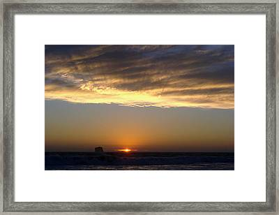 Fading Daylight Framed Print by Ty Nichols