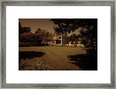 Fading Glory - The Hermitage Framed Print