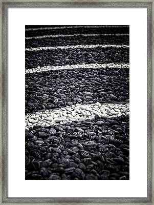 Fading In And Out Framed Print
