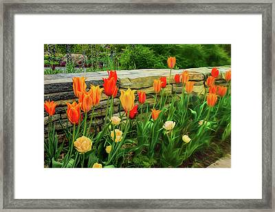 Fading Into The Dream Framed Print