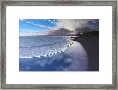 Fading Light Framed Print by Paul Newcastle