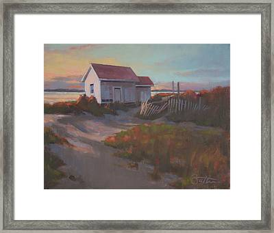 Fading Light Framed Print by Todd Baxter