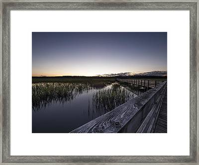 Fading Light Framed Print