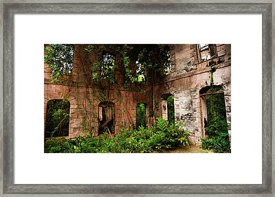 Fading Memories Framed Print by Karen Wiles