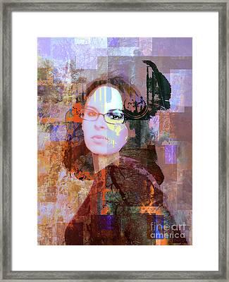 Fading Memory Framed Print by Robert Ball