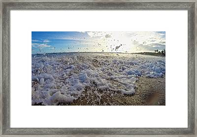 Fading Moments Framed Print by Steven Lapkin