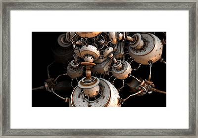 Fading To Dark Framed Print