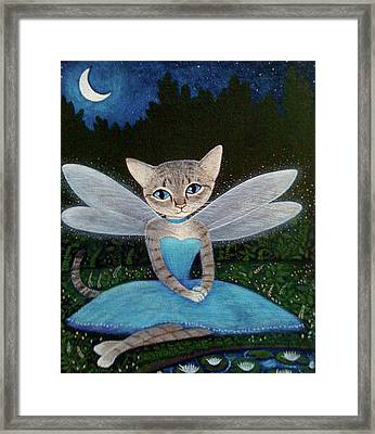 Fae Framed Print by Fairy Tails Portraits