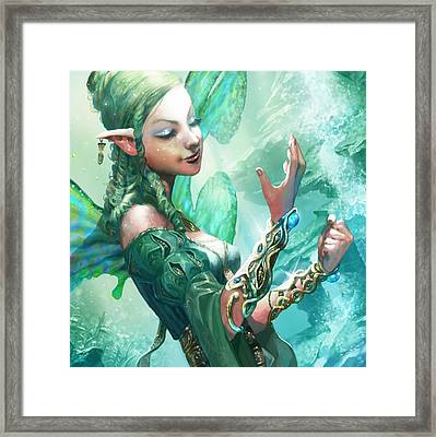 Faerie Cuffs Framed Print by Ryan Barger