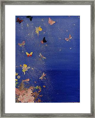 Faerie Dreams Framed Print by Michele Edler