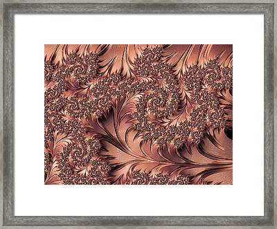 Framed Print featuring the digital art Faerie Forest Floor I by Susan Maxwell Schmidt