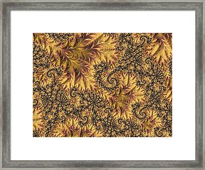 Framed Print featuring the digital art Faerie Forest Floor II by Susan Maxwell Schmidt