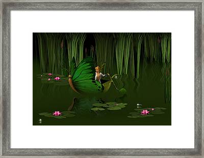 Faerie Pond Framed Print