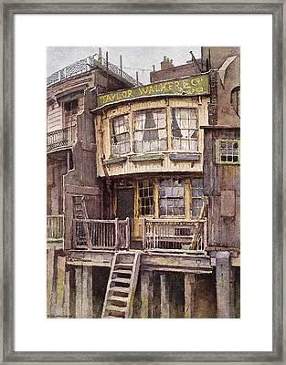 Fagin's Den Framed Print by Sarah Vernon