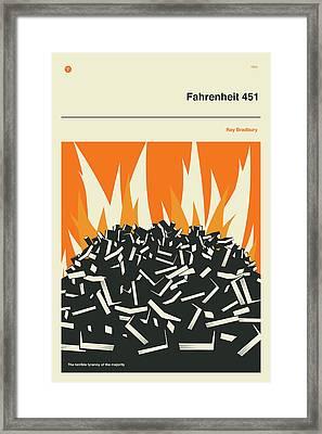 Fahrenheit 451 Framed Print