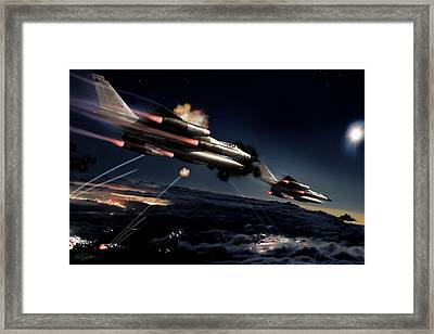 Fail Safe Framed Print by Peter Chilelli