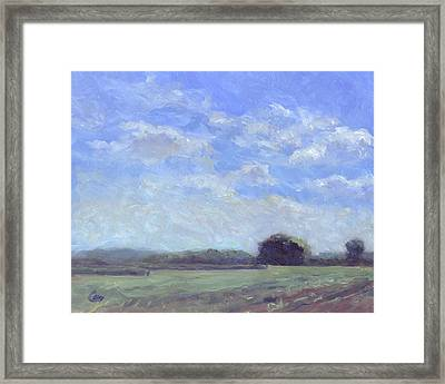 Fair And Sunny Framed Print by Michael Camp