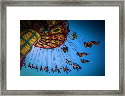 Fair Chair Swinger Framed Print