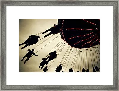 Fair Flying Framed Print
