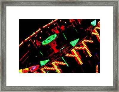 Fair Fun Framed Print by Dana  Oliver