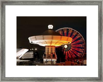 Fair Fun Framed Print by Scott Gould