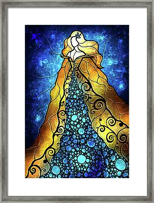 Fair Ophelia Framed Print by Mandie Manzano