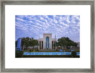Fair Park Dallas Framed Print