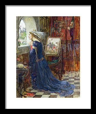 Eleanor Of Aquitaine Framed Prints
