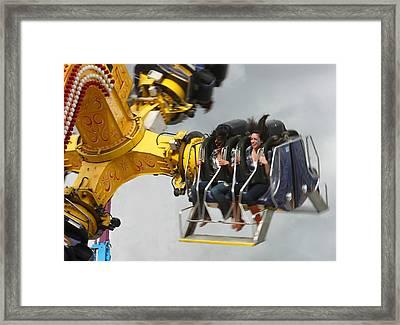 Fair Shake Framed Print by Barbara  White